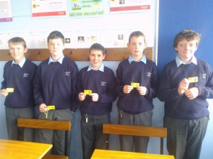 Insurance Quiz winners 1st year