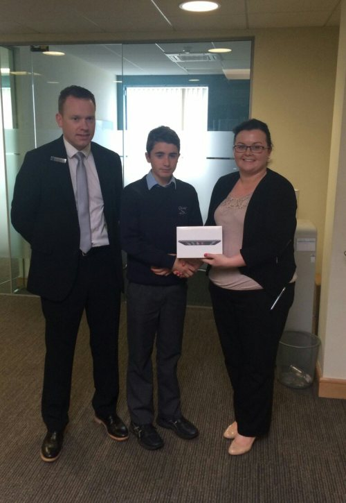 iPad Prize Winner 2016